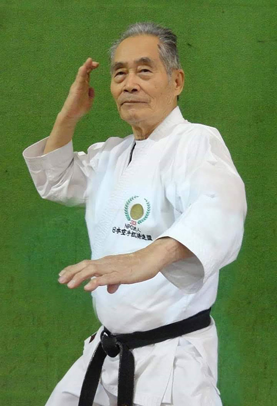 JKS Brazil leader Sadamu Uriu Sensei
